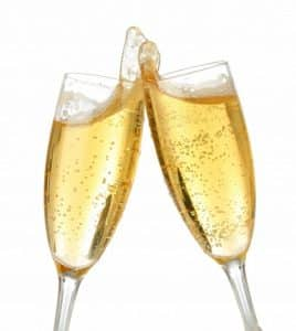 champagnekysset