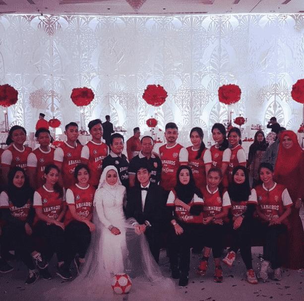 arsenal bryllup