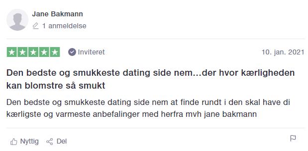 dating.dk gode anmeldelser