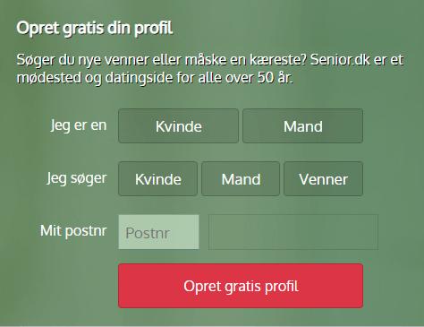 Opret gratis din profil